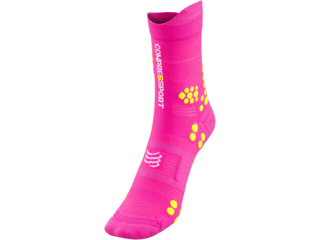 Compressport Pro Racing V3.0 Trail Skarpetki, fluo pink